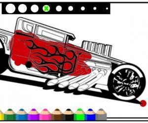 Araba Boyama Oyunu